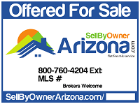 Sell By Owner Arizona For Sale Sign
